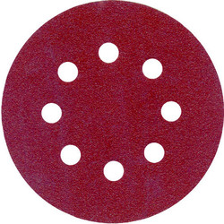 Toolpak Sanding Disc 125mm 240 Grit - 21822 - from Toolstation
