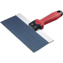 "QLTbyMarshalltown Marshalltown QLT Blue Steel Taping Knife 10"" x 3"" - 21844 - from Toolstation"