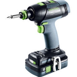 Festool Festool 18V Li-Ion T 18+3 Cordless Drill Driver 2 x 4.0Ah - 22044 - from Toolstation