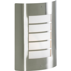Zinc Sigma IP44 Slat Panel Wall Light  - 22050 - from Toolstation