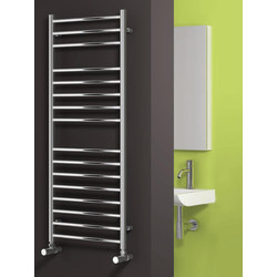 Reina Luna Towel Radiator 1200 x 350mm 2384Btu - 22080 - from Toolstation