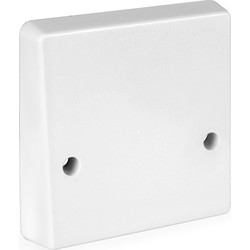 Crabtree Crabtree 45A Cooker Outlet Plate 1 Gang - 22152 - from Toolstation