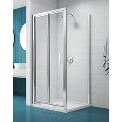 Merlyn NIX  Merlyn NIX Bi-Fold Shower Enclosure Door 800mm - 22253 - from Toolstation