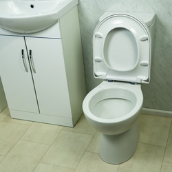 Croydex Eyre Thermoset Soft Close Toilet Seat