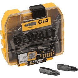 DeWalt DeWalt Screwdriver Bits PZ2 - 22315 - from Toolstation