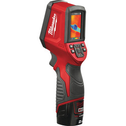 Milwaukee Milwaukee M12TD-201C 12V Li-Ion Thermal Detector 1 x 2.0Ah - 22351 - from Toolstation
