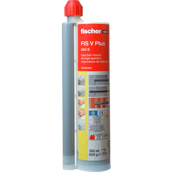 Fischer Fischer FIS VW 360S - Vinylester Styrene Free Injection Resin - Winter 360ml - 22428 - from Toolstation