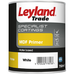 Leyland Trade Leyland Trade MDF Primer Paint 750ml - 22461 - from Toolstation
