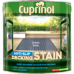 Cuprinol Cuprinol Anti-Slip Decking Stain 2.5L Urban Slate - 22463 - from Toolstation
