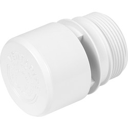 McAlpine McAlpine VP1 Air Admittance Valve White - 22538 - from Toolstation