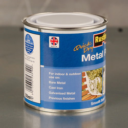 Rustins Quick Dry Metal Paint Smooth Satin 500ml