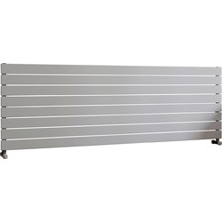 Ximax Ximax Oxford Single Horizontal Designer Radiator 595 x 1800mm 3782Btu White - 22655 - from Toolstation
