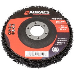Abracs Abracs Poly Abrasive Disc 115 x 22mm - 22693 - from Toolstation