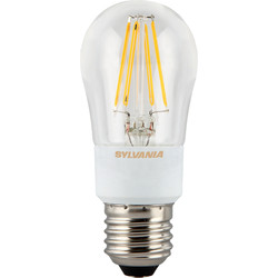 Sylvania Sylvania LED Filament Effect Dimmable Ball Lamp 4.5W ES 470lm A++ - 22702 - from Toolstation