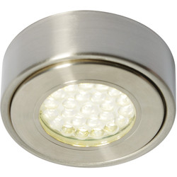 Culina Laghetto 240V LED Round Under Cupboard Light 1 x 1.5W 140lm light - 22705 - from Toolstation