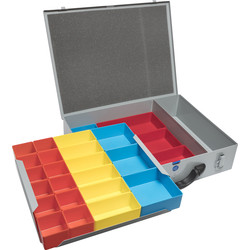 Case Large Screw Case Double 440 x 330 x 95mm - 22734 - from Toolstation