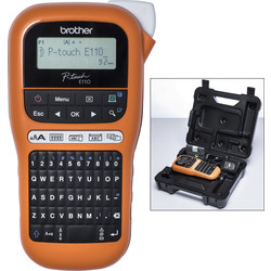 Brother Brother PTE110VP Handheld Label Printer  - 22753 - from Toolstation