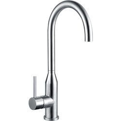 Franke Franke Montreux Mono Mixer Kitchen Tap Stainless Steel - 22763 - from Toolstation