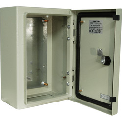 Steel Enclosure IP65 400 x 300 x 150mm - 22875 - from Toolstation
