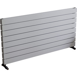 Ximax Ximax Oxford Duo Horizontal Designer Radiator 595 x 1200mm 4027Btu White - 23008 - from Toolstation