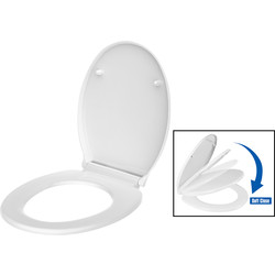 Ebb and Flo Ebb + Flo Thermoset Soft Close Toilet Seat  - 23052 - from Toolstation
