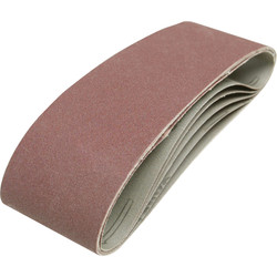 Toolpak Cloth Sanding Belt 75 x 533mm 80 Grit - 23150 - from Toolstation