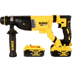 DeWalt DeWalt 18V XR Brushless SDS-Plus Rotary Hammer 2 x 5.0Ah - 23213 - from Toolstation