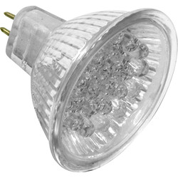 MR11 LED Lamp Green - 23225 - from Toolstation