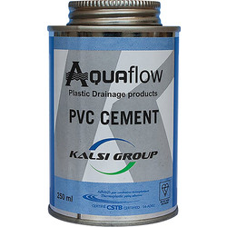 Aquaflow PVC Pipe Solvent Cement 250ml - 23243 - from Toolstation