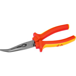 CK C.K Redline VDE 45° Bent Nose Pliers 200mm - 23297 - from Toolstation