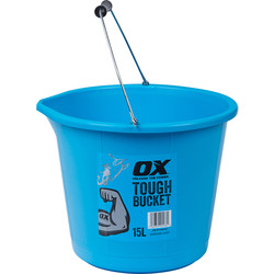 OX OX Pro Tough Bucket 15L - 23407 - from Toolstation