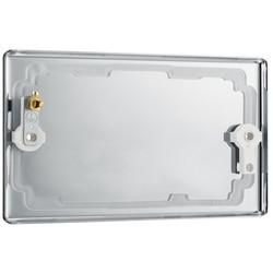 BG Polished Chrome Blank Plate