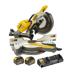 DeWalt DHS780T2-GB 54V XR FlexVolt 305mm Mitre Saw