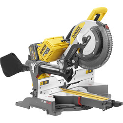 DeWalt DeWalt DHS780T2-GB 54V XR FlexVolt 305mm Mitre Saw 2 x 6.0Ah - 23499 - from Toolstation