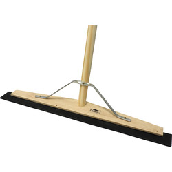 "Hill Brush Company Wooden Squeegee With Handle 24"" (610mm) - 23793 - from Toolstation"