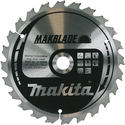 Makita Makita TCT Saw Blade 255 x 30 x 48T - 23795 - from Toolstation