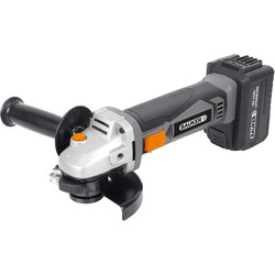 Bauker Bauker 18V Li-Ion Cordless 115mm Angle Grinder 1 x 4.0Ah - 24096 - from Toolstation