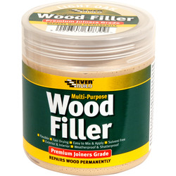 Everbuild Everbuild Multi Purpose Wood Filler 250ml Light Oak - 24128 - from Toolstation
