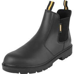 Maverick Safety Maverick Slider Safety Dealer Boots Black Size 8 - 24244 - from Toolstation