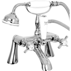 Waldorf Traditional Taps Bath Shower Mixer - 24310 - from Toolstation