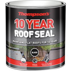 Thompsons Thompsons 10 Year Roof Seal Black 4L - 24314 - from Toolstation