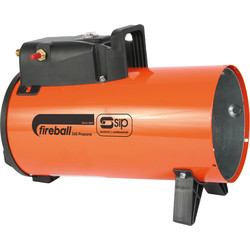 SIP SIP Fireball 230V Propane Heater 36,500Btu - 24328 - from Toolstation