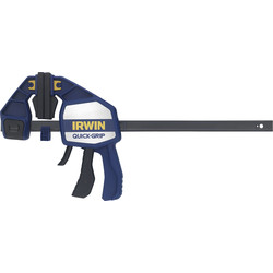 "Irwin Irwin Quick-Grip Heavy-Duty Bar Clamp 300mm / 12"" - 24377 - from Toolstation"