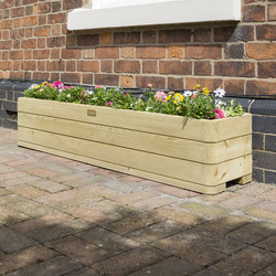 Rowlinson Rowlinson Marberry Patio Planter 30cm (h) x 150cm (w) x 30cm (d) - 24382 - from Toolstation