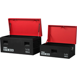 "Hilka Hilka Site Combination Storage Box 32 / 42"" - 24454 - from Toolstation"