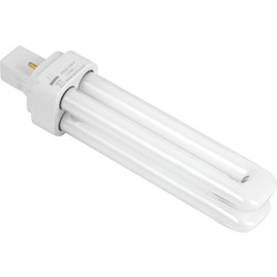 Sylvania Sylvania Lynx D Energy Saving CFL Lamp 10W 2 Pin G24d-1 - 24498 - from Toolstation