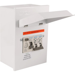 Axiom Axiom Metal 17th Edition Amendment 3 Garage Consumer Unit 2 Way - 24537 - from Toolstation