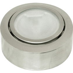 LV Capsule Lamp Downlight Brushed Nickel - 24639 - from Toolstation