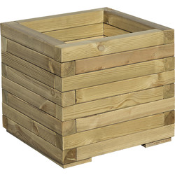 Rowlinson Rowlinson Square Patio Planter 37cm (h) x 40cm (w) x 40cm (d) - 24711 - from Toolstation