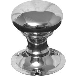 Jedo Victorian Rim Knob Set Chrome - 24720 - from Toolstation